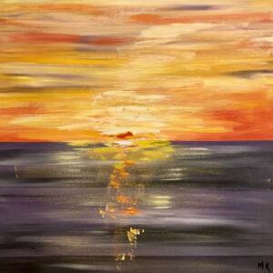 Mona Kanaan - Sunset