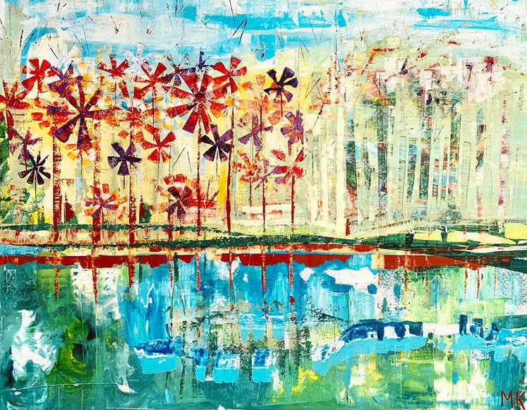 Mona Kanaan - The inner garden