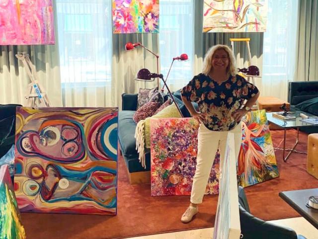 MK Art Utställning - Vägen till framgång - Juli till Sep 2020
