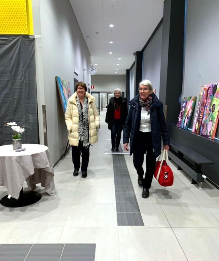 MK Art Utställning - konst och ledarskap en förutsättning för demokrati - Feb 2020