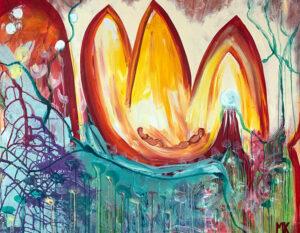 Mona Kanaan - The tulip sauna